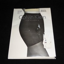 Vintage NOS Calvin Klein Total Shaper Sheer 544 Pantyhose Size A White NEW - $14.80