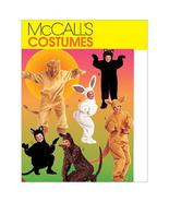 McCall's M6106 Adult's/Kids' Cat Kangaroo Bear Lion Bunny Costume Patter... - $8.99