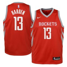 Nike NBA Youth James Harden Official Swingman Jersey Dri-Fit Red(8-20years - $39.99