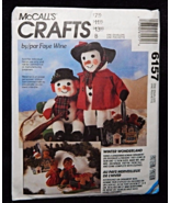 McCall's Crafts 778 6157 Winter Wonderland Snowmen Gingerbread Pattern - $5.95