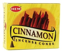 Cinnamon HEM  Incense cones pack - $3.60