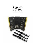 ISO Beauty Gold Collection Digital Twister Curling Wand Perfectly Define... - $69.99