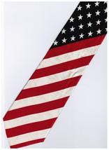 Patriotic American Flag #4 Cartoon Novelty Fancy Neck Tie - $9.99