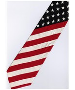 Patriotic American Flag #4 Cartoon Novelty Fancy Neck Tie - $9.99