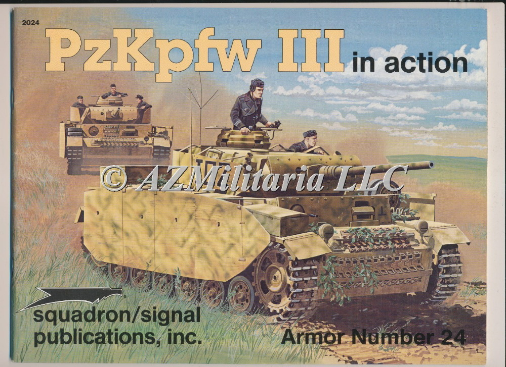 PzKpfw III In Action Armor No. 24
