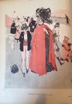 Original LE RIRE Page Lithograph 1900 - $13.55