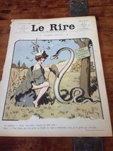 Original LE RIRE Cover Lithograph by Gerbault J... - $18.48
