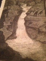 Vintage 1800's Antique Print STEEL ENGRAVING Solomon's Creek - $18.66