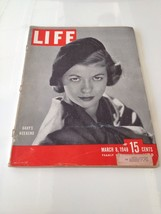 Vintage Life Magazine 1948 March 8 Gaby Bouche Red Shoes Camisoles Sir S... - $18.66