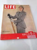 Vintage Life Magazine 1946 October 14 The White House War Criminals fall... - $13.98
