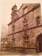 French Print Photograph Hotels & Maisons De La Renaissance Franchise Brive - $28.01