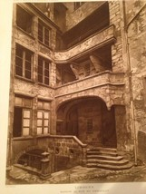 French Print Photograph Hotels & Maisons De La Renaissance Franchise Lim... - $28.01