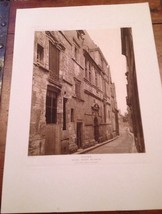 French Print Photograph Hotels & Maisons De La Renaissance Franchise Tours - $28.01