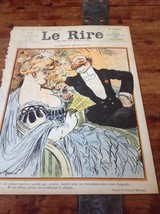 Original LE RIRE Cover Lithograph by Meunièr Fe... - $18.48