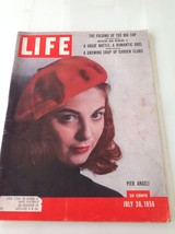 LIFE MAGAZINE JULY 30 1956 PIER ANGELI EMPORIA ... - $18.66