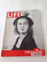 Life magazine Nov 24 1947  SUBDEB  Italy  Met Opera - $18.66