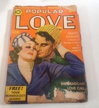 1940 Original Love Story Pulp Magazine Romance Street & Smith's - $9.46