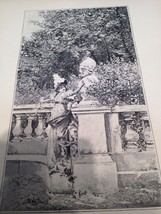 L LELOIR Antique 1892 Print SARDOU's Play La Tosca Floria Heroine  Typog... - $13.98