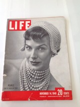 1949 November 14 : Vintage Vtg LIFE Magazine : Pearls, Fashion, Women - $13.98