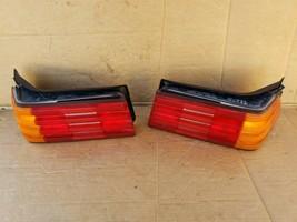 90-95 Mercedes W129 R129 500 500sl SL320 S500 Tail Light Lamps Set L&R image 1