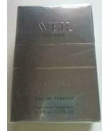 Weil Homme 100 ml / 3.3 fl. oz. Silver Eau de Parfum - New Sealed Package - $44.50
