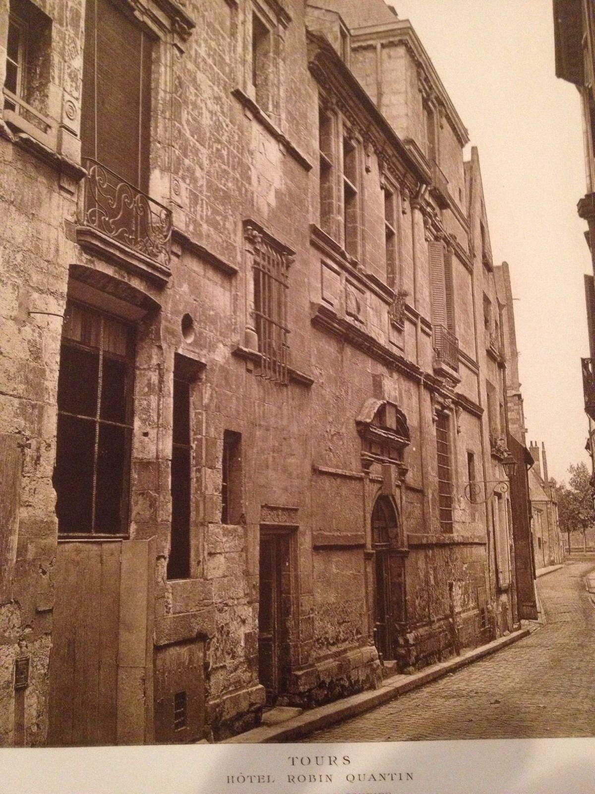 French Print Photograph Hotels & Maisons De La Renaissance Franchise Tours