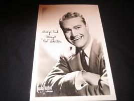 "Red ""Red"" Skelton, Promo Photograph Vintage, autopen autograph RARE 1940s? - $16.34"