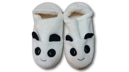 White Black Panda Cute Kawaii Cosplay Adult Plush Rave Shoes Slippers - €7,46 EUR