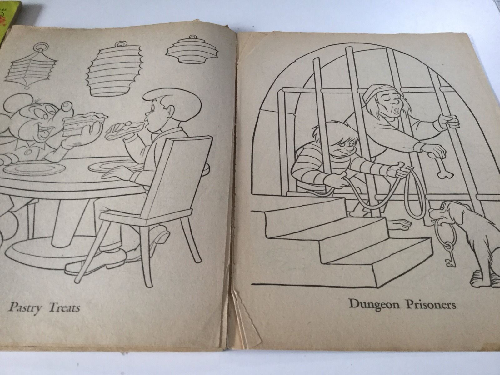 Vintage Disneyland Coloring Book Whitman and 50 similar items
