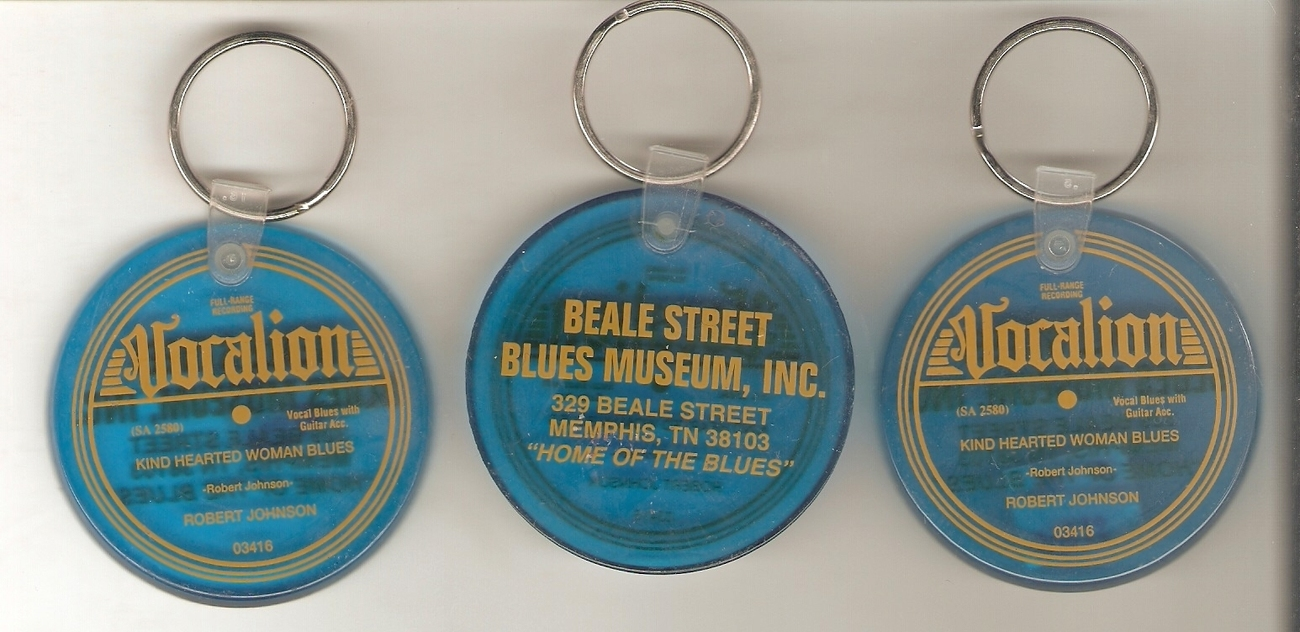 4 Assorted MEMPHIS SOUL MUSIC BOOKMARKS Club Handy 3 VOCALION RECORD KEYCHAINS