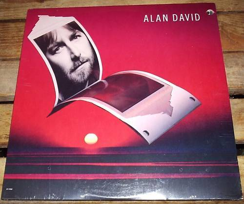 ALAN DAVID Self-Titled LP SEALED 1981