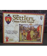 Settlers of Catan 485 2 Person Card Game Award Winner Klaus Teuber - $24.74