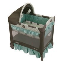 Baby Gear Graco Travel Lite Crib Winslet h2925 ... - $108.29