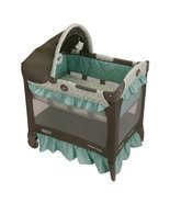 Baby Gear Graco Travel Lite Crib Winslet h2925 l2280 w3200 w20.04 1852645 - $109.67