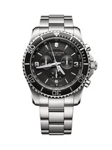 Victorinox Swiss Army Maverick SS Black 43mm 241695 Watch (Authorized De... - $670.47