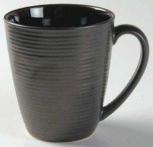 Sango Bistro Black Mug, Fine China Dinnerware - $18.80