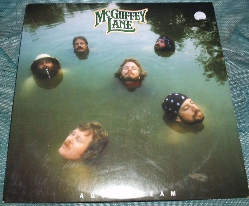 McGUFFEY LANE Aqua Dream LP PROMO 1981