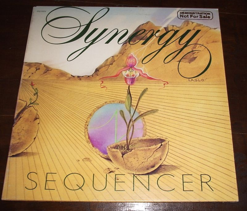 SYNERGY Sequencer LP PROMO 1976