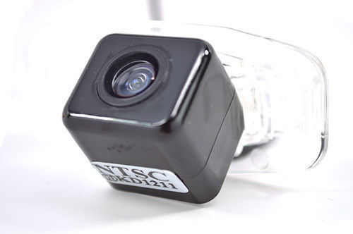 Back Up License Plate Reverse Camera CMOS Civic Safety Night Vision Trunk Mount