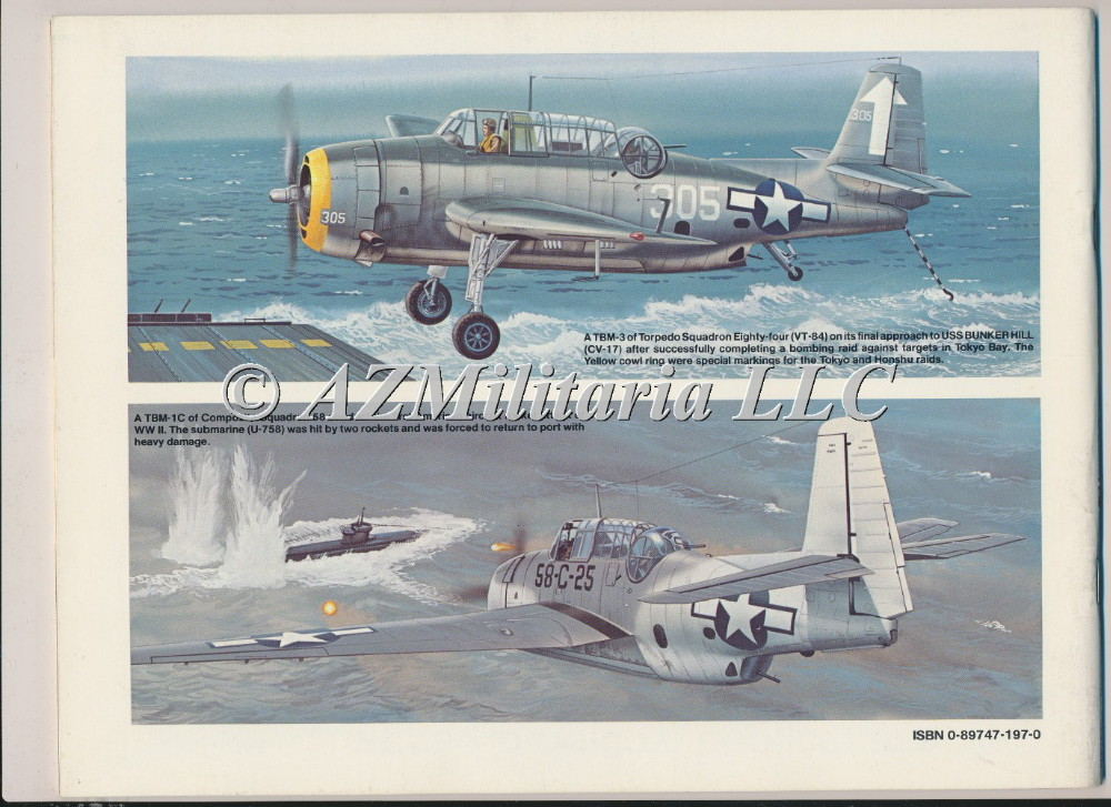 TBM/TBF Avenger In Action Aircraft No. 82