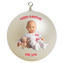 Personalized American Girl Bitty Baby Christmas Ornament Gift - $24.95