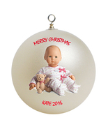 Personalized American Girl Bitty Baby Christmas Ornament Gift - $16.95