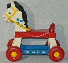 Vintage 1976 Fisher Price Riding Horse #978 In Good Condition 1119! - $39.59