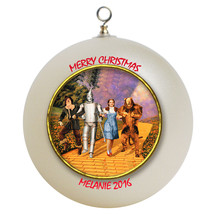 Personalized Wizard of Oz Christmas Ornament Gift - $16.95