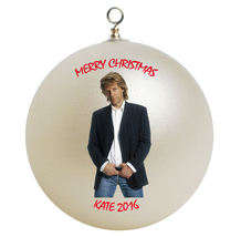 Personalized Jon Bon Jovi Christmas Ornament Gift - $16.95