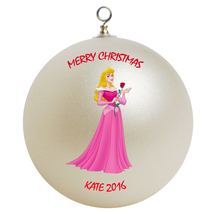 Personalized Sleeping Beauty Christmas Ornament Gift - $16.95