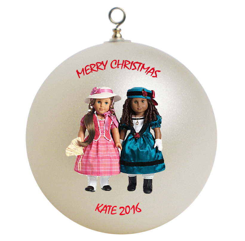 Personalized american girl marie grace cecile christmas