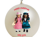 American girl best friends mary grace and cecile christmas ornament thumb155 crop