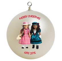 American girl best friends mary grace and cecile christmas ornament thumb200