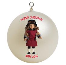 Personalized American Girl Rebecca Rubin Christmas Ornament Gift - $16.95